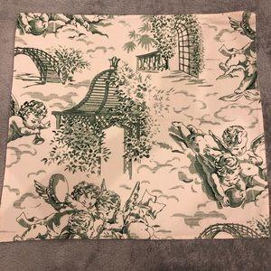 Le Cluny set of 10 linen napkins. Cotton, washable